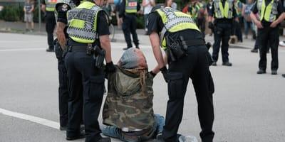 Kanada: podczas aresztowania podejrzany pogryzł policyjnego psa!