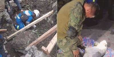 Soldato scoppia in lacrime quando non riesce a salvare il cane (Video)