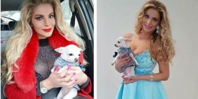 Ecco il Chihuahua Barbie, il cane di Francesca Cipriani (Foto)