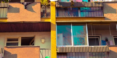 Z balkonu w Krakowie od kilku dni dochodzą niepokojące dźwięki. Straż miejska zastaje potworny widok